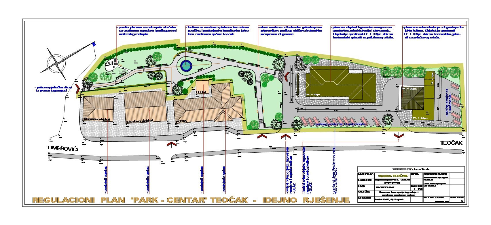 "Regulacioni plan ""Park - Centar"" Teo?ak"